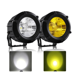 Dual Colors Small Led Driving Lights for Vehicles JG-992M