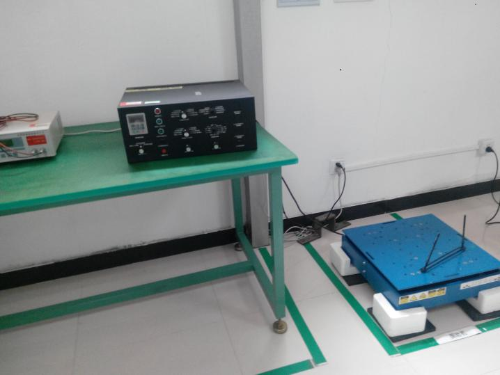 laser driving light anti-vibration test