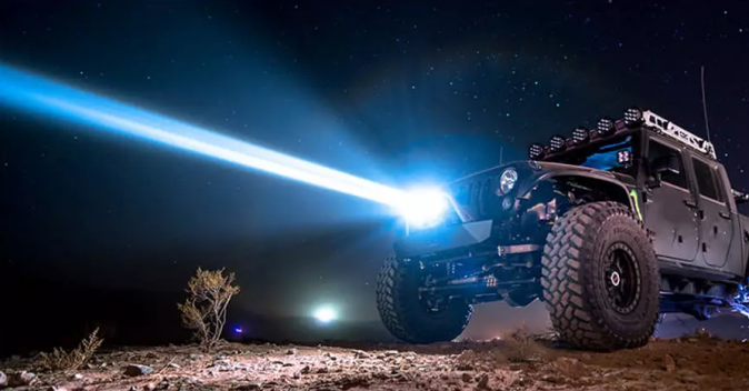 working off road laser driving lights