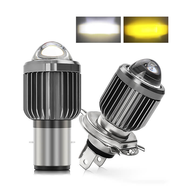 New Motorcycle LED Headlight Projector Lens JG-MT05